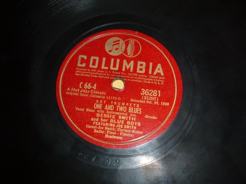 Bessie Smith recorded for Columbia by Dan Hornsby