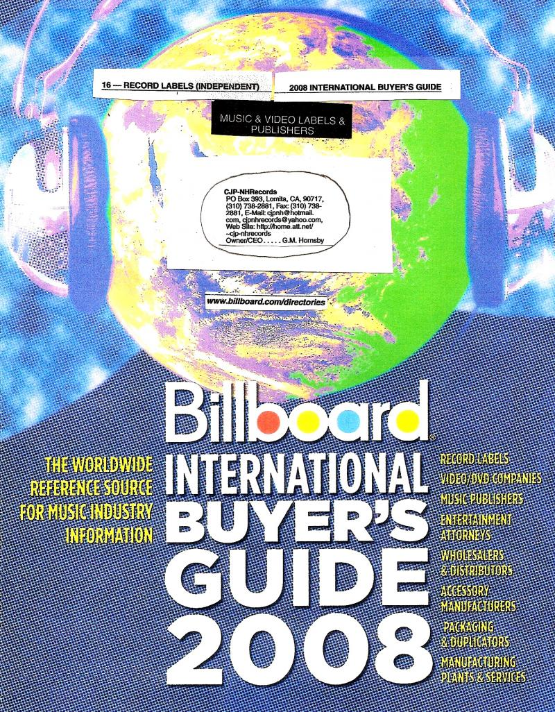 Billboard Guide Publication Listing