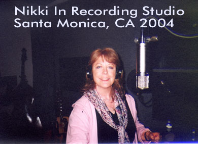 Nikki in Rifkin Productions Studio Santa Monica