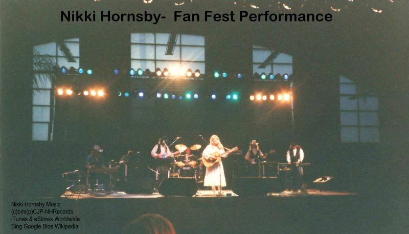 Fan Fest Performance by Recording artist Nikki Hornsby