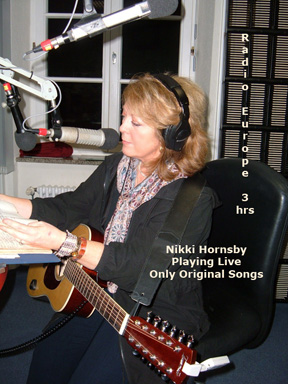 ONLY Nikki Hornsby original (c) (p) songs with limited commercial breaks