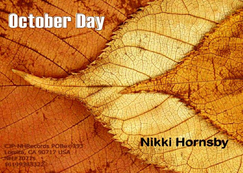"2012 Single CD cover ""October Day"" by Nikki Hornsby"